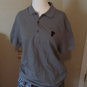 Men's Versace Collection polo Grey size Large